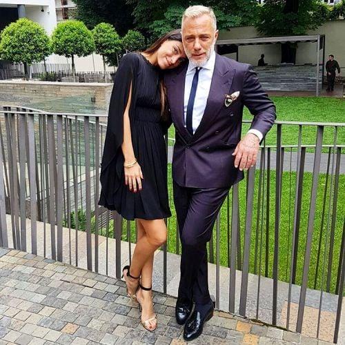 Джорджия Габриэле с Джанлука Вакка