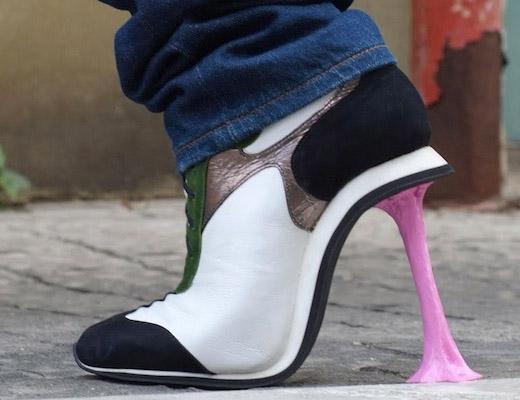 кроссовки на каблуках Коби Леви
