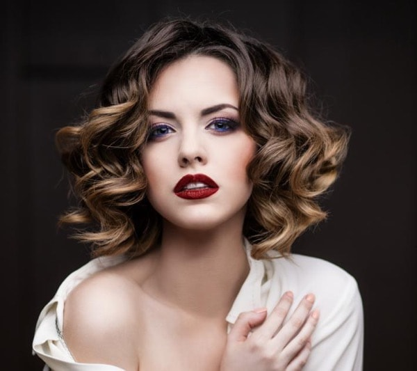 окрашивание балаяж на короткие волосы