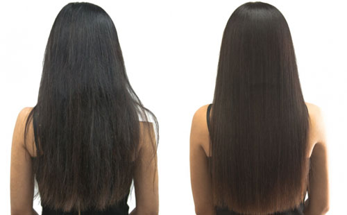 что такое ламинирование волос фото до и после эффект от ламинирования волос