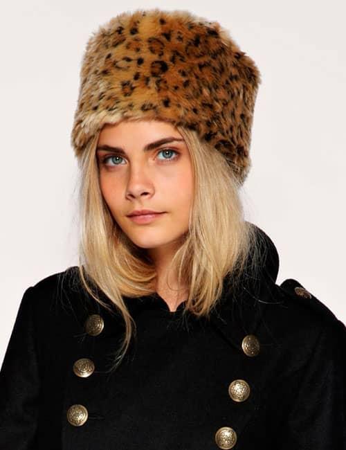 меховая шляпа
