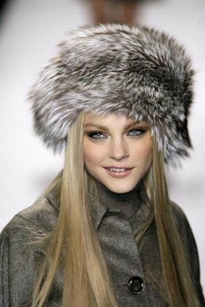 виды женских шапок меховые шапки