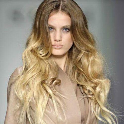 брондирование волос омбре фото