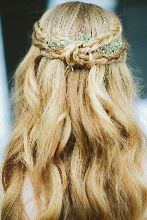 коса в стиле бохо
