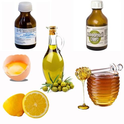 рецепт лимонно-глицериновой маски