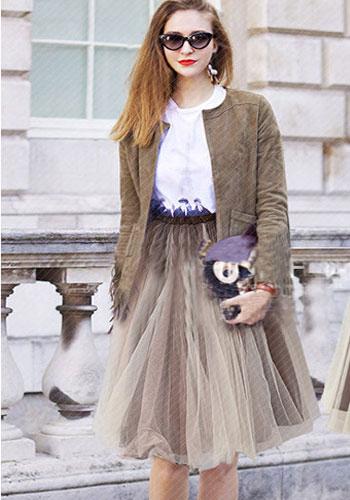 юбка-пачка с белой блузой офисный вариант