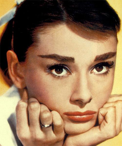как сделать макияж Одри Хепберн
